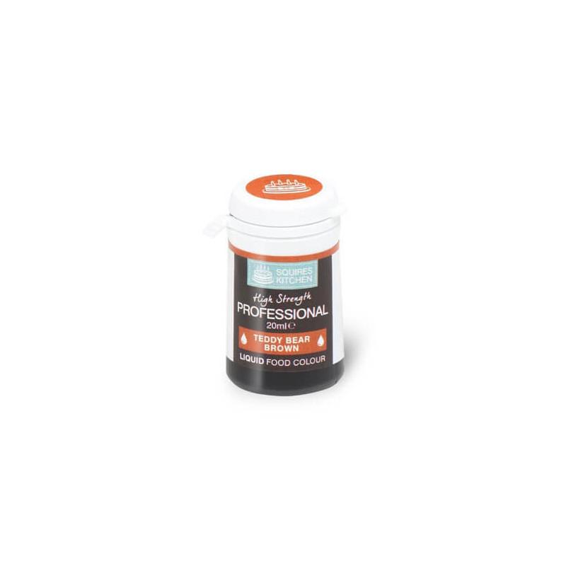 Colorant alimentaire professionnel liquide marron brun ourson