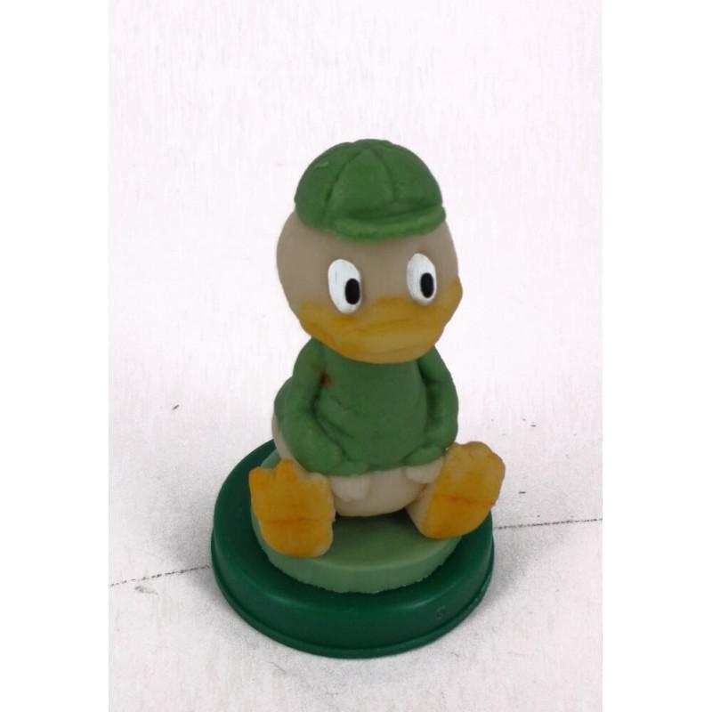 Figurine pâte d'amande Loulou vert