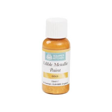 Gold paint 15ml Squires Kitchen