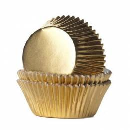 36 mini cupcakes or GILDED gold boxes