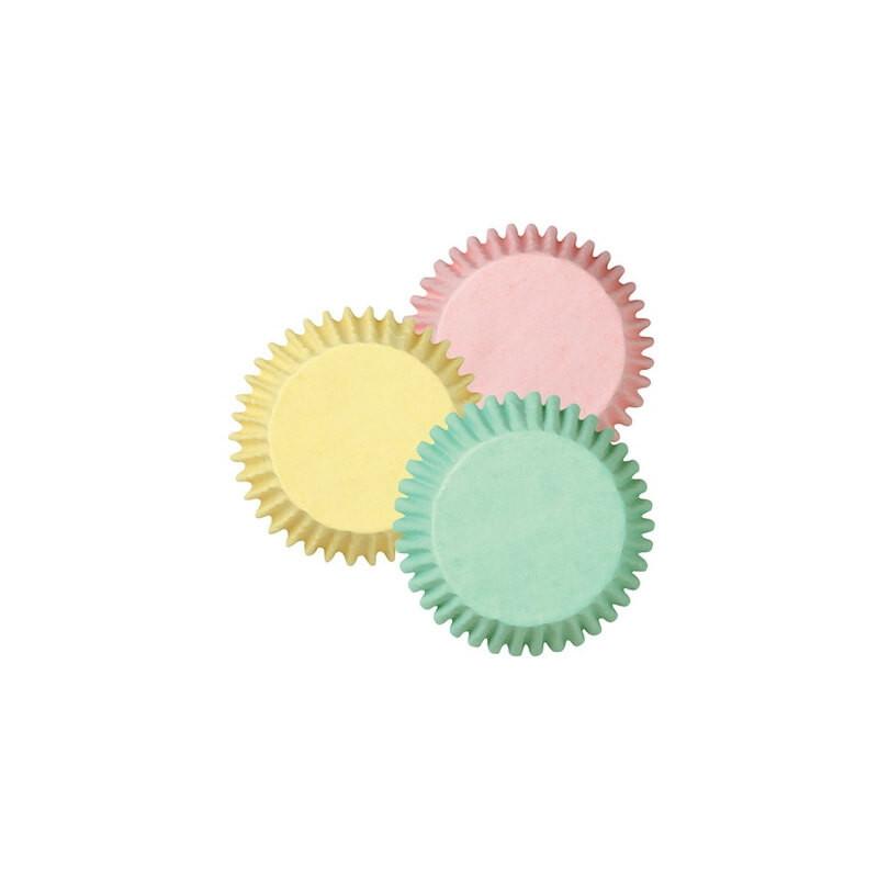 75 cápsulas para cupcakes, 3 colores de primavera Wilton