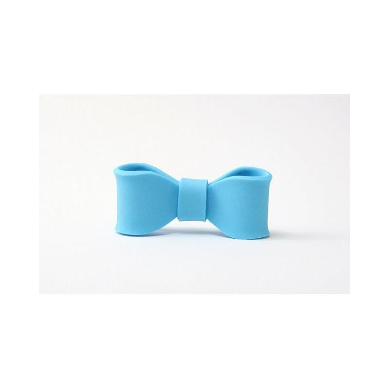 SMALL sugar knot BLUE 5x2cm