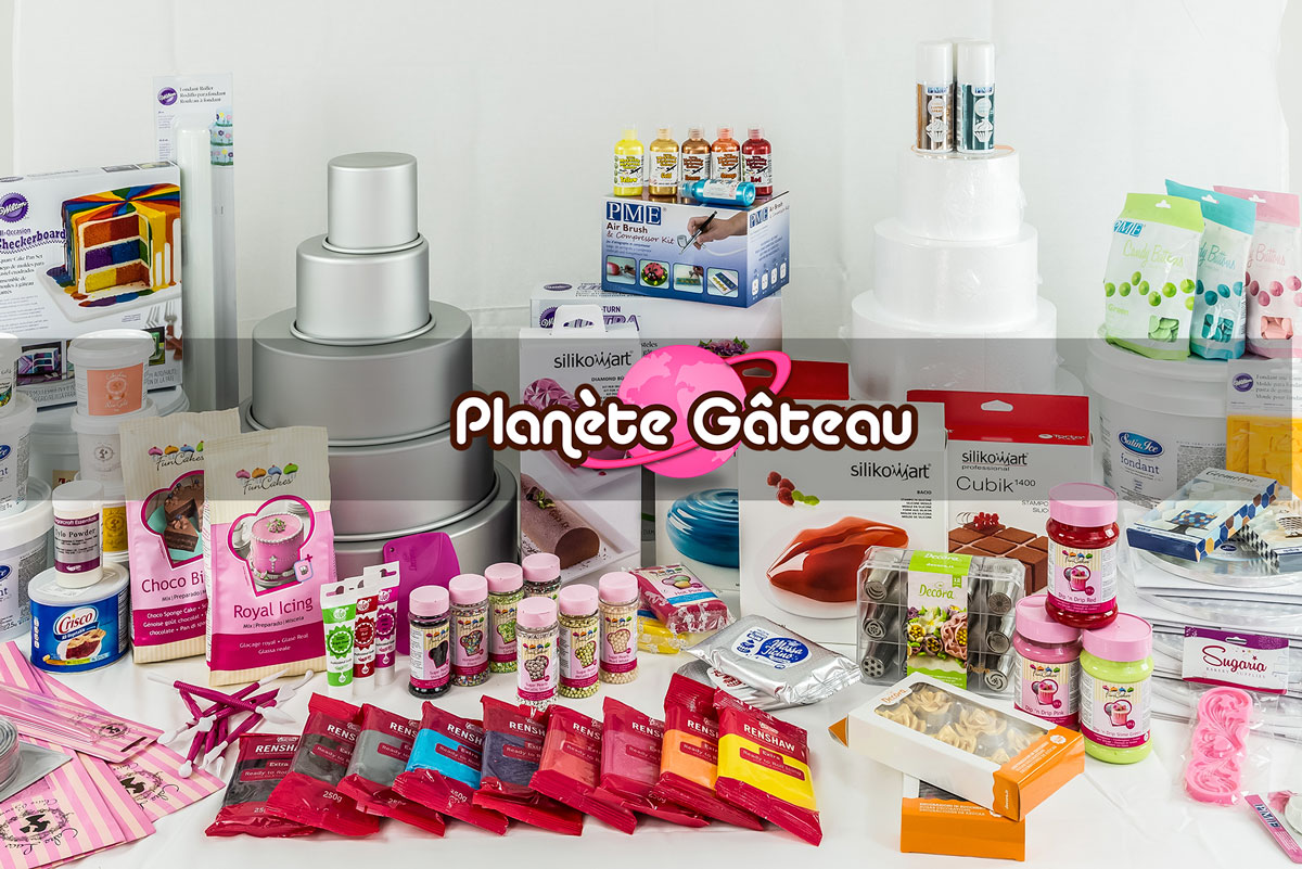 Ma boutique de Cake Design PLANETE GATEAU