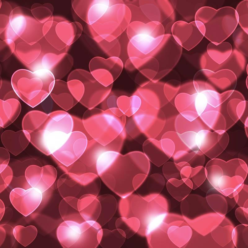 Coeurs Fuschia