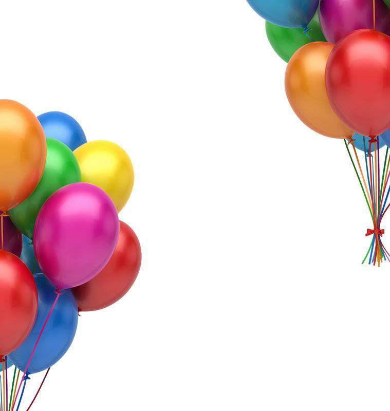 Ballons fête et anniversaire