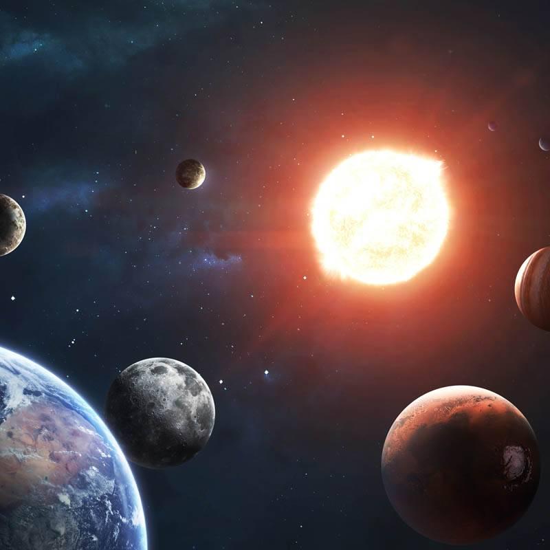 Planètes et système solaire